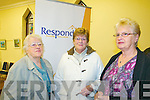 Respond Housing : Pictured at the opening of the Respond Housing opening  at  Convent Walk, Ballybunion on Friday last were Eileen Ryan, Phil Breen & Nuala Kelly.