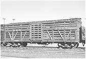 RGS stock car #7465 in Peake, CO.<br /> RGS  Peake, CO  Taken by Richardson, Robert W. - 11/20/1951