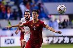 Do Duy Manh of Vietnam in action during the AFC Asian Cup UAE 2019 Round of 16 match between Jordan (JOR) and Vietnam (VIE) at Al Maktoum Stadium on 20 January 2019 in Dubai, United Arab Emirates. Photo by Marcio Rodrigo Machado / Power Sport Images