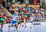 Michael Damgaard (SC Magdeburg #34) beim Spiel in der Handball Bundesliga, TVB 1898 Stuttgart - SC Magdeburg.<br /> <br /> Foto © PIX-Sportfotos *** Foto ist honorarpflichtig! *** Auf Anfrage in hoeherer Qualitaet/Aufloesung. Belegexemplar erbeten. Veroeffentlichung ausschliesslich fuer journalistisch-publizistische Zwecke. For editorial use only.