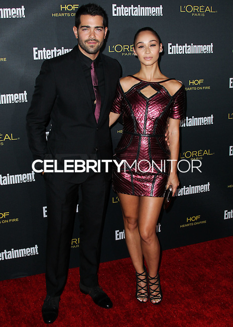 WEST HOLLYWOOD, CA, USA - AUGUST 23: Jesse Metcalfe and Cara Santana arrive at the 2014 Entertainment Weekly Pre-Emmy Party held at the Fig & Olive on August 23, 2014 in West Hollywood, California, United States. (Photo by Xavier Collin/Celebrity Monitor)