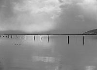 Flooded range land in the Great Salt Lake Flats