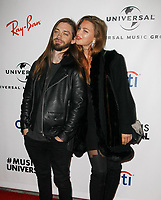 LOS ANGELES, CA - FEBRUARY 10: Jennifer Akerman and Tom Payne attends Universal Music Group's 2019 After Party at The ROW DTLA on February 9, 2019 in Los Angeles, California. Photo: CraSH/imageSPACE / MediaPunch