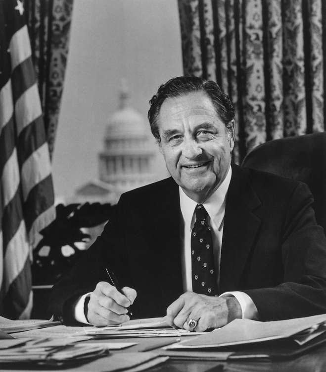 Rep. J. J. Pickle, D-Tex., on Aug. 26, 1983. (Photo by CQ Roll Call)