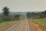 Highway in Misiones, Argentina.