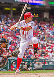30 August 2015: Washington Nationals first baseman Ryan Zimmerman in action against the Miami Marlins at Nationals Park in Washington, DC. The Nationals rallied to defeat the Marlins 7-4 in the third game of their 3-game weekend series. Mandatory Credit: Ed Wolfstein Photo *** RAW (NEF) Image File Available ***