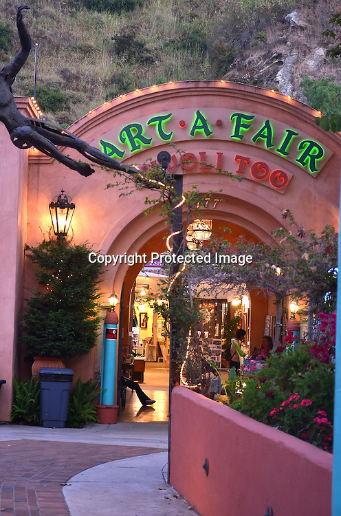 Early Evening Laguna Beach Art a Fair