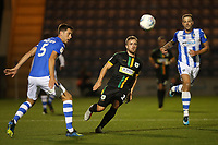 Alex Pattison of Yeovil Town during Colchester United vs Yeovil Town, Sky Bet EFL League 2 Football at the JobServe Community Stadium on 2nd October 2018