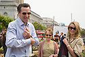 "Mayor Gavin Newsom (L), and Jennifer Siebel (R), fiancee, with Alice Waters (middle), founder and co-owner of Chez Panisse, at Community Planting Day (July 12, 2008) of the Slow Food Nation Victory Garden at San Francisco's Civic Center. The garden project ""demonstrates the potential of a truly local agriculture practice that unites and promotes Bay Area urban gardening organizations, while producing high quality food for those in need.""* The garden is planted on the same site as the post-World War II garden sixty years ago. The food will be grown over a period of two months, harvested, and donated to people in need..*slowfoodnation.org"