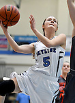 1-24-17, Skyline High School vs Tecumseh High School girl's varsity basketball