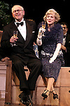 Blythe Danner Returns to Broadway: Terry Beaver, Blythe Danner.during the Curtain Call for 'Nice Work If You Can Get It'  at the Imperial Theatre in New York City on December 19, 2012