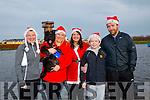 Enjoying the Santa 5km run in memory of Fiona Moore in aid of Heart Children Ireland at the Tralee Wetlands were Liz O'Connor  Gemma O'Shea with Ellie the dog, Bridget McBride, Jack McBride and Richard McBride