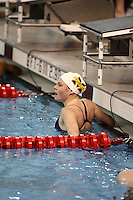 Mary Catherine Steiner (University of Michigan) competing in the 200 yard Free Preliminaries at the 2008 Women's Big Ten Swimming and Diving Championships, held as the Ohio State University's McCorkle Aquatic Center. Feb. 21st-23rd, 2008. Three Meter Prelims...