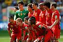 Belgium team group line-up (BEL), JULY 5, 2014 - Football / Soccer : FIFA World Cup Brazil 2014 Quarter-finals match between Argentina 1-0 Belgium at Estadio Nacional in Brasilia, Brazil. (Photo by D.Nakashima/AFLO)