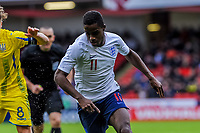 Fulham's midfielder Ryan Sessegnon (11) for England U21's during the International Euro U21 Qualification match between England U21 and Ukraine U21 at Bramall Lane, Sheffield, England on 27 March 2018. Photo by Stephen Buckley / PRiME Media Images.