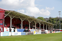 The main stand during Ebbsfleet United vs Dagenham & Redbridge, Vanarama National League Football at The Kuflink Stadium on 13th April 2019
