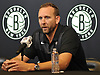 Brooklyn Nets General Manager Sean Marks speaks with the media at HSS Training Center in Brooklyn, NY on Tuesday, Sept. 18, 2018.