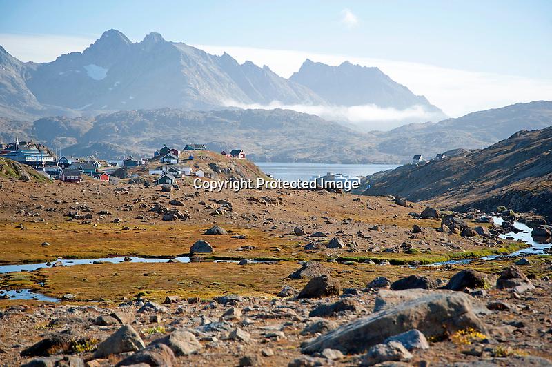 Tasiilaq Village View Greenland
