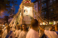Festival of Madonna del Soccorso di Sciacca, North End, Boston, MA Hanover St.