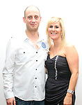 John Duddy with his girlfriend Rita Murray at his 30th in Bru...(Photo credit should read Jenny Matthews www.newsfile.ie)....This Picture has been sent you under the conditions enclosed by:.Newsfile Ltd..The Studio,.Millmount Abbey,.Drogheda,.Co Meath..Ireland..Tel: +353(0)41-9871240.Fax: +353(0)41-9871260.GSM: +353(0)86-2500958.email: pictures@newsfile.ie.www.newsfile.ie.