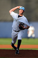 Charlotte Stone Crabs pitcher Andrew Bellatti #17 during a game against the Palm Beach Cardinals at Charlotte Sports Park on April 7, 2013 in Port Charlotte, Florida.  Palm Beach defeated Charlotte 8-1.  (Mike Janes/Four Seam Images)