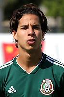Diego Lainez Leyva of Mexico U21's during Mexico Under-21 vs Turkey Under-21, Tournoi Maurice Revello Football at Stade de Lattre-de-Tassigny on 6th June 2018