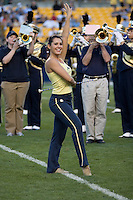 01 September 2007: Pitt Golden Girl ..The Pitt Panthers defeated the Eastern Michigan Eagles 27-3 at Heinz Field, Pittsburgh, Pennsylvania.