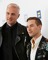 LOS ANGELES - MAR 30:  Jussi-Pekka Kajaala, Adam Rippon at the Human Rights Campaign 2019 Los Angeles Dinner  at the JW Marriott Los Angeles at L.A. LIVE on March 30, 2019 in Los Angeles, CA