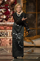 Eva Marie Saint presents the Oscar&reg; for achievement in costume design during the live ABC Telecast of The 90th Oscars&reg; at the Dolby&reg; Theatre in Hollywood, CA on Sunday, March 4, 2018.<br /> *Editorial Use Only*<br /> CAP/PLF/AMPAS<br /> Supplied by Capital Pictures