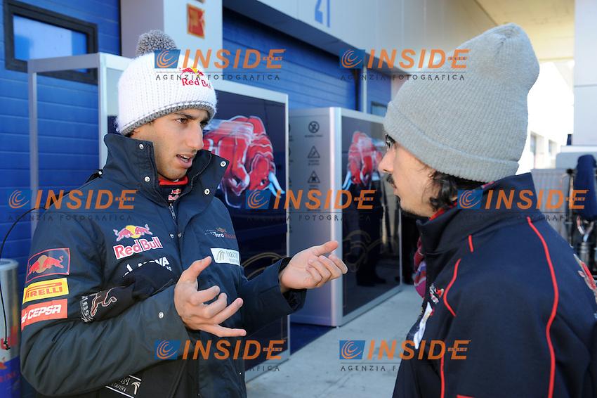 DANIEL RICCIARDO (AUS) - TORO ROSSO STR7.Formula 1: Test Jerez 08/02/2012.Foto Insidefoto / Gilles Levent / PanoramiC.ITALY ONLY
