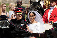 MAY 19  Prince Harry, Duke of Sussex and Megan Duchess of Sussex