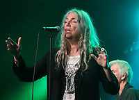 Patti Smith performs at the Cambridge Folk Festival 2018, Cherry Hinton Hall, Cambridge, England, UK on 3rd and 4th August 2018.<br /> CAP/ROS<br /> &copy;ROS/Capital Pictures