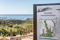 Sea Summit Parks and Trails Map Sign