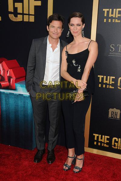 30 July 2015 - Los Angeles, California - Jason Bateman, Rebecca Hall. &quot;The Gift&quot; Los Angeles Premiere held at Regal Cinemas LA Live.  <br /> CAP/ADM/BP<br /> &copy;Byron Purvis/AdMedia/Capital Pictures