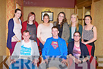 AQUATICS: The students of the Health & Leisure Aquatics course at the IT Tralee APA Awards at the Meadowlands hotel, Tralee on Thursday seated l-r:Jack Walsh, Donal Nolan and Shane Whelan. Back l-r: Leonie Higgins, Holly Kinsella, Rachel Sinnott, Sinead Moloney, Sarah Miley and Danielle Travers.