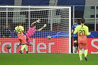Mario Pasalic of Atalanta BC scores the goal of 1-1 <br /> Milano 06-11-2019 Stadio San Siro <br /> Football Champions League 2019/2020 Group C <br /> Atalanta - Manchester City <br /> Photo Andrea Staccioli / Insidefoto