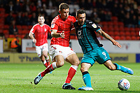 Borja Baston of Swansea City in action during the Sky Bet Championship match between Charlton Athletic and Swansea City at The Valley, London, England, UK. Wednesday 02 October 2019