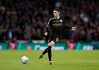 1st March 2020; Wembley Stadium, London, England; Carabao Cup Final, League Cup, Aston Villa versus Manchester City; Phil Foden of Manchester City