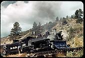 D&amp;RGW #499 K-37 - Maysville, Colorado<br /> D&amp;RGW  Maysville, CO  Taken by LeMassena, Robert A. - 1949