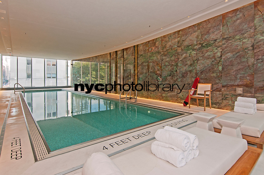Swimming Pool at 1 Madison Avenue