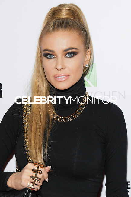 LOS ANGELES, CA, USA - OCTOBER 14: Carmen Electra arrives at the Marco Marco: Collection Three 2015 Runway Presentation held at the Viviana Cathedral on October 14, 2014 in Los Angeles, California, United States. (Photo by Rudy Torres/Celebrity Monitor)