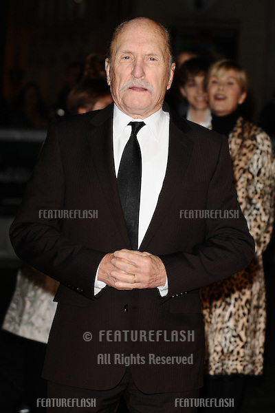 "Robert Duvall arrives for the ""Jack Reacher"" premiere at the Odeon Leicester Square, London. 10/12/2012 Picture by: Steve Vas / Featureflash"