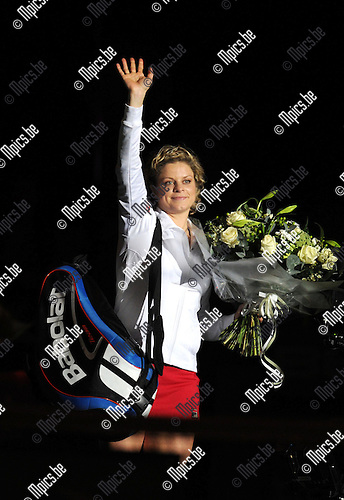 2012-12-12 / Tennis / seizoen 2012-2013 / Kim Clijsters Thank you games / Kim Clijsters..Foto: Mpics.be