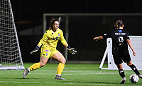 goalkeeper Sara Missair of Sporting Charleroi pictured during a female soccer game between Sporting Charleroi and FC Femina White Star Woluwe on the second matchday of the 2020 - 2021 season of Belgian Scooore Women s SuperLeague , friday 4 th of September 2020  in Marcinelle , Belgium . PHOTO SPORTPIX.BE | SPP | DAVID CATRY