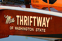 "U-60 ""Miss Thriftway of Washington State""(replica of 1955 Allison powered Ted Jones hull)"