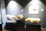 Verraco megalithic monuments in animal shapes,  museum, Caceres, Extremadura, Spain