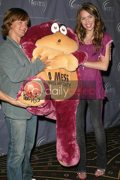 Jason Earles and Miley Cyrus<br />