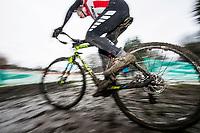 Picture by Allan McKenzie/SWpix.com - 10/12/17 - Cycling - HSBC UK National Cyclo-Cross Championships - Round 5, Peel Park - Bradford, England -