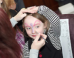 Holly Brennan gets her face painted at the Coffee Morning Fundraiser in aid of Trocaire organised by Inse Bay Residents...Photo NEWSFILE/Jenny Matthews.(Photo credit should read Jenny Matthews/NEWSFILE)....This Picture has been sent you under the condtions enclosed by:.Newsfile Ltd..The Studio,.Millmount Abbey,.Drogheda,.Co Meath..Ireland..Tel: +353(0)41-9871240.Fax: +353(0)41-9871260.GSM: +353(0)86-2500958.email: pictures@newsfile.ie.www.newsfile.ie.FTP: 193.120.102.198.