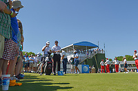 Jimmy Walker (USA) looks over his tee shot on 10 during round 1 of the AT&T Byron Nelson, Trinity Forest Golf Club, at Dallas, Texas, USA. 5/17/2018.<br /> Picture: Golffile | Ken Murray<br /> <br /> <br /> All photo usage must carry mandatory copyright credit (© Golffile | Ken Murray)